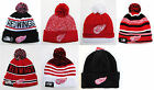 Detroit Red Wings Pom Top Cuffed Beanie Winter Cap Hat NHL Authentic