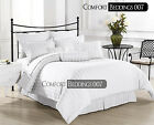 Extra TC White Bedding Set 100%Cotton 1200TC All Uk Size Reasonable Price