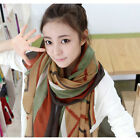 Fashion Women Lady Vintage Long Soft Cotton Voile Print Scarves Shawl Wrap Scarf