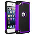 """4"""" Apple iPod Touch 5 6 Gen Hybrid Impact Shock Proof Hard Back Case Cover"""