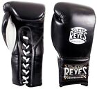 Cleto Reyes Professional Lace Up Training Gloves (Black)
