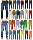 Mens Jeans Skinny Slim Fit Denim Trousers Casual Straight Pants Made in LA