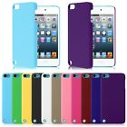Protective Slim Hard Rubberized Plastic Case Cover For iPod Touch 5th 6th Gen