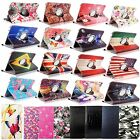 """For Samsung Galaxy Tab 4 7.0"""" 7-inch Folio Case Cover 360 Rotating Rugged Stand"""