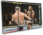 Quinton Rampage Jackson MMA Sports TREBLE CANVAS WALL ART Picture Print VA