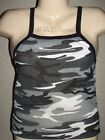 Camo Tank Top with Black-Gray & White Camo Print  in M/L or L/XL NWOT by Rothco