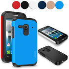 For Alcatel One Touch Evolve 2 4037T Hybrid Rugged Armor Shockproof Hard Case