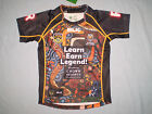 INDIGENOUS ALL STARS 2015 JERSEY ADULTS BLK SELECT SIZES XS-5XL ON BNWT
