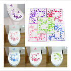 Butterfly Flower Bathroom Toilet Laptop Wall Decals Stickers Home Decoration