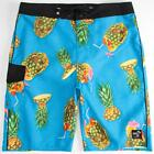 VANS Drained And Confused Boardshorts Mens Blue Tropical Drink Shorts New NWT