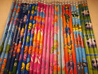 18 Pencils with Eraser Great party bag filler Select your theme