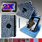 Rotating PU Leather Case Cover Stand For Google NEXUS 10 (Samsung) + Bundle NEW