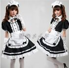 Maid Dress Cosplay Maid Costume Sexy Lolita Apron Dress Set Outfit Girl Woman