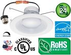 Downlight Trim 12 Pack 5 6 Inch 16W LED Recessed Dimmable Retrofit Can Light 114