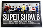 SUPER JUNIOR - World Tour in Seoul : Super Show 6 DVD [2Disc+Photobook+Poster]