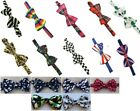 Patterned pretied bow ties good quality