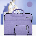Purple Cotton Fabric Sleeve Carry Bag For Laptop Macbook Air Pro 13 14 15 inch