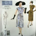 Vogue Sewing Pattern 2787 Vintage Model 40s War Years Vamp Dress Choose Size