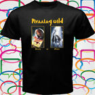 "RUNNING WILD ""DEATH OR GLORY"" Heavy metal Band Men's Black T-Shirt Size S-3XL"