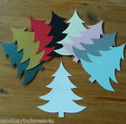 Silhouette Die Cuts - Christmas Tree - Invitations - Tags - Topper - Cardmaking