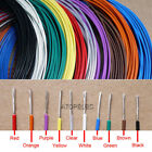 2M Silver Plated FEP Wire High Purity OFC Copper Cable HiFi Audio Speaker DIY