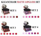Kleancolor MATTE Lip Gloss - Beautiful Bold and Matte Shade