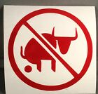 No Bullsh*t Decal Sticker Car/Truck/Window/Laptop/Gun Safe/Tool Box