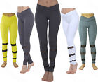 WOMEN'S MESH LEGGINGS GYM YOGA WITH POCKET STRETCH TROUSERS 5 COLORS (1505B)