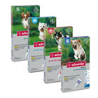 ADVANTIX  Fleas and Ticks Spot-on for Dogs 4 pipettes