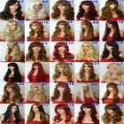 WOMEN'S SEXY LONG CURLY FANCY DRESS LONG FULL HAIR WIGS