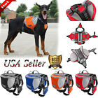 Pet Dog Outdoor Travel Hiking Camping Saddle Bag Backpack Harness Back Pack SML