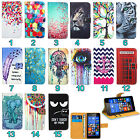 LG Mobile Phone Leather Wallet Kickstand Bag Case Cover