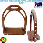 HORSE RIDING ALUMINUM SAFETY SADDLE STIRRUP IRONS WITH TREADS CRYSTALS/DIAMANTE