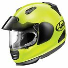 Arai Defiant Pro-Cruise Helmet, Fluorescent Yellow - All Sizes!