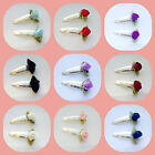 2 SATIN ROSE SNAP HAIR CLIPS WEDDING BRIDESMAID FLOWER GIRL CHILDS PROM PARTY