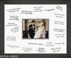 "Medium 12x16"" Wedding Guest Signing Board Black Frame"