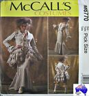 McCALLS SEWING PATTERN 6770 Victorian Steampunk Bustle Skirt Jacket Costume