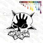 "1 of 5"" to 20"" Five Finger Death Punch Skull Band /B 5FDP car wall sticker decal"