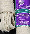 EVERLASTO SASH CORD No.6 SUPERBRAID COTTON 5mm