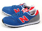 New Balance ML373ROR D Blue & Red & Grey & White Classic Lifestyle Shoes NB