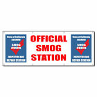 Official Smog Station Smog Check Inspection Vinyl Banner Sign With Grommets $224.99 USD on eBay