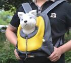Pet Travel Large Mesh Backpack Carrier Small Dog Opening For Your Pet's Head New