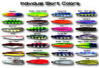 Santos Premium Replacement Trolling Lure Skirts Big Game OLC Ocean Lure Concepts