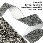 Genuine SWAROVSKI 57000 3cm Width Crystal CAL Fabric-It Band Self Adhesive Film