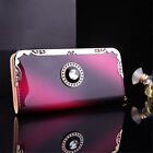 New Lady Fashion Women Clutch Long Purse Leather Wallet Card Holder Bags US SHIP