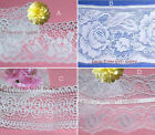 "White Lace Trim 3-7 Yards CLOSEOUT 2-3/4""-3-7/8"" 048VV Your Choice No Ship Fee"