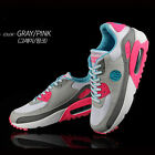 Paperplanes Women's K- Max Sports Air Running Athletic Shoes(P1101)WhiteGrayPink