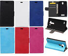 Lichi High Wallet Card Holder Leather Case Cover Fr HTC series X9 520 626 728 SF
