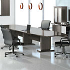 8' - 16' MODERN CONFERENCE ROOM TABLE Boardroom Meeting Office 10 12 14 FT Foot