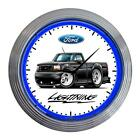 1993-95 Ford SVT Lightning F150 Classic Neon Clock NEW